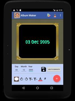 Birthday Album Frames apk screenshot