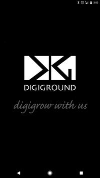 DigiGround App poster