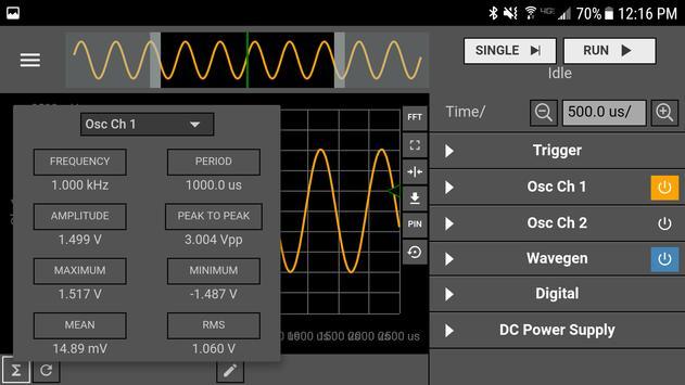 WaveForms Live apk screenshot