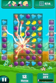 Candy Fruit Crush - Story Puzzle screenshot 3