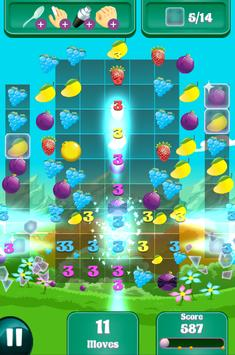 Candy Fruit Crush - Story Puzzle screenshot 4