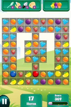 Candy Fruit Crush - Story Puzzle screenshot 5