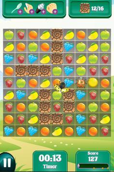 Candy Fruit Crush - Story Puzzle screenshot 7