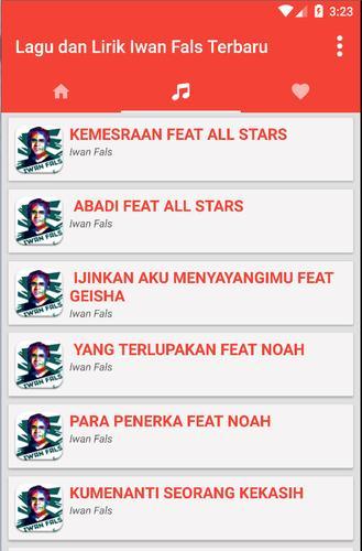 Lagu Iwan Fals Terbaru Lirik For Android Apk Download