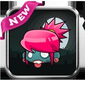 Super Crazy Zombie Adventure:Halloween Edition2017 icon