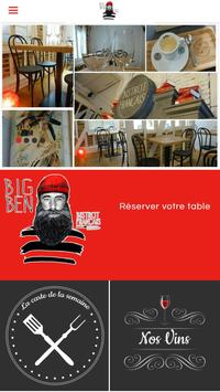 Big Ben Bistrot Français poster