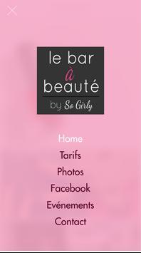 So Girly - Le Bar à Beauté poster