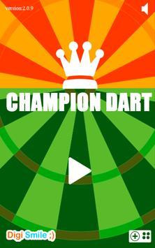 Champion Dart poster
