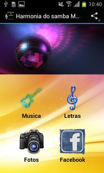Harmonia do samba Musica poster