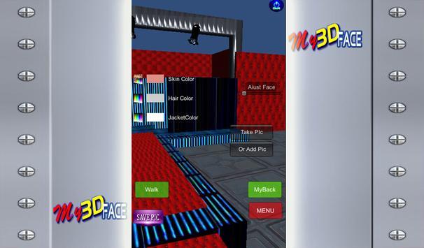 My 3D Face apk screenshot