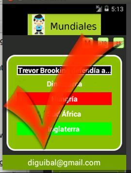 Mundiales de Fútbol apk screenshot