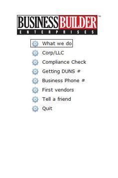 Business Credit Building App poster