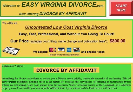 Easy Virginia Divorce poster