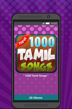 1000 Tamil song poster
