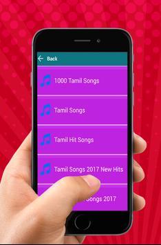 1000 Tamil song apk screenshot