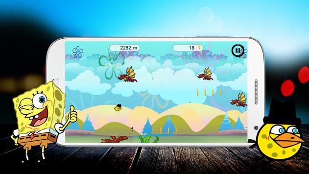 Traveling Spongy- Bird apk screenshot