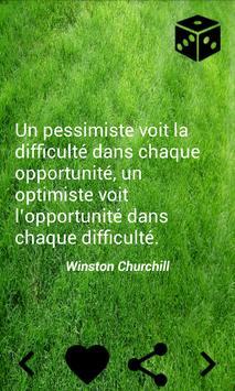 Citations motivation apk screenshot