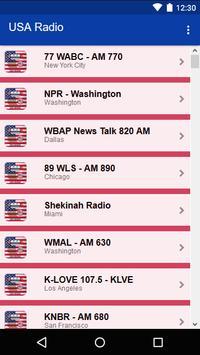 USA Radio screenshot 1