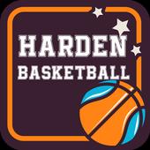 James Harden Basketball 2017 icon