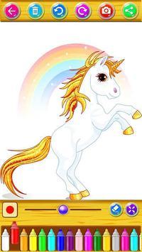 Unicorn Coloring Book screenshot 8