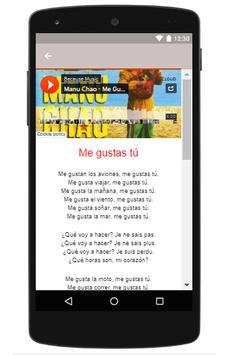 manu chao music clandestino apk screenshot