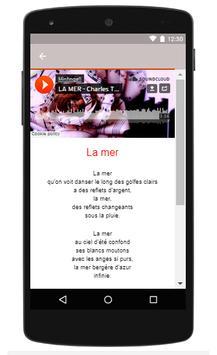 Charles Trenet Songs Of La Mer    La Folle C screenshot 1
