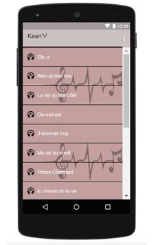 Keen'V Songs Of La Vie Du Bon Cote poster