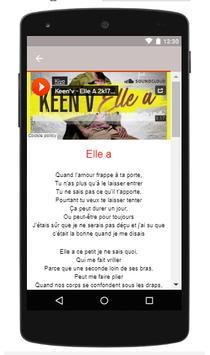 Keen'V Songs Of La Vie Du Bon Cote screenshot 1