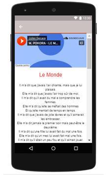 M Pokora songs Of Le Monde poster