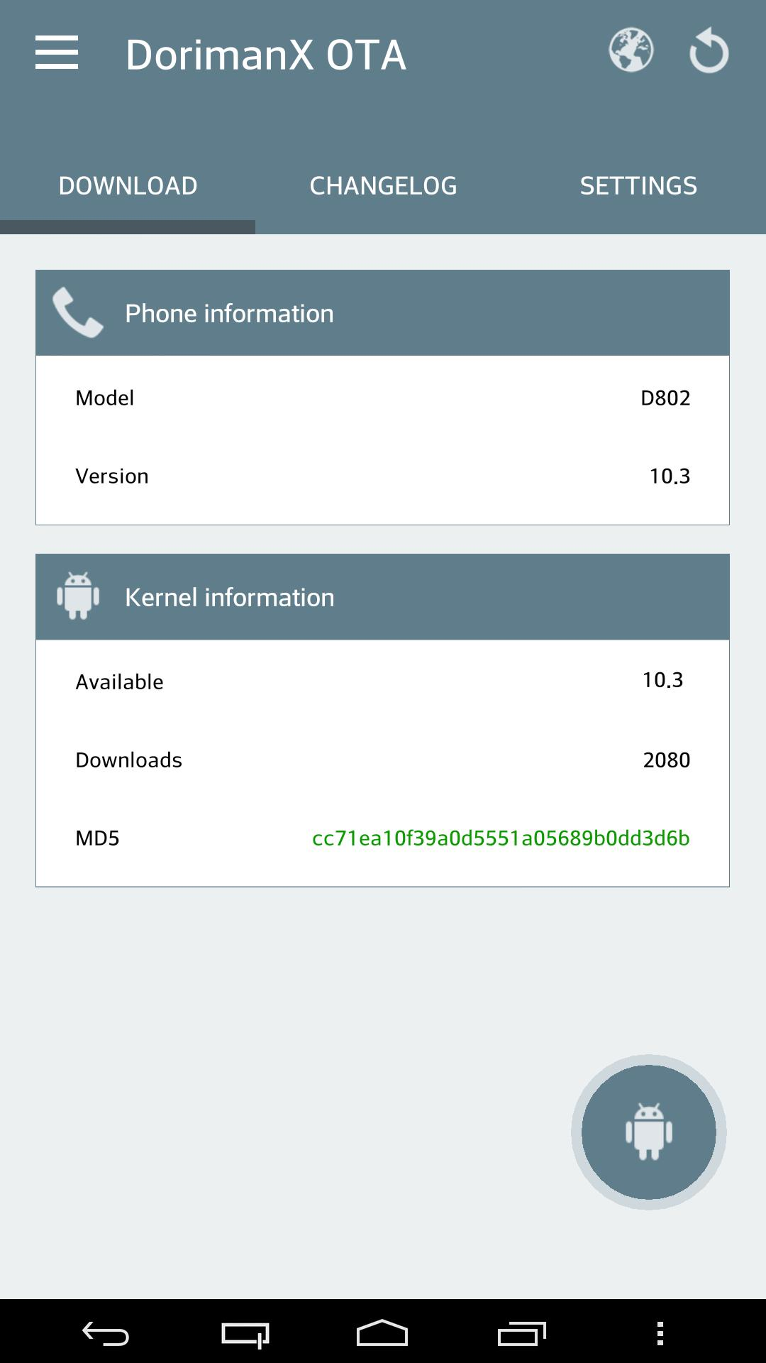 ROOT] DorimanX OTA LG-G2 FREE for Android - APK Download