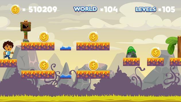 Super Diego Adventure apk screenshot