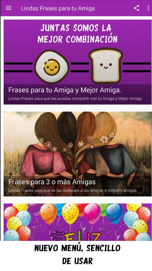 Lindas Frases Para Tu Amiga For Android Apk Download