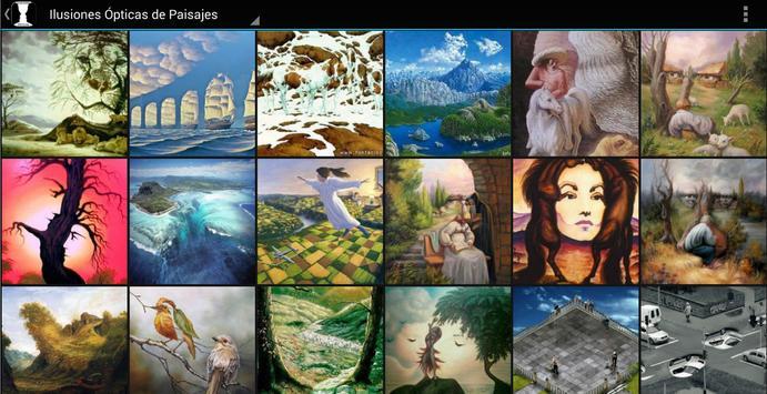 Imagenes de Ilusiones Opticas apk screenshot