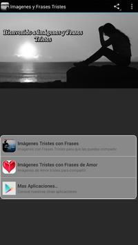 Imagenes y Frases Tristes poster