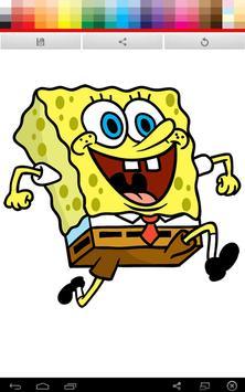 Spongebob Coloring apk screenshot