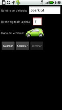 Pico y Placa en Colombia apk screenshot