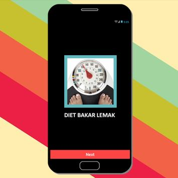 Diet Bakar Lemak screenshot 1