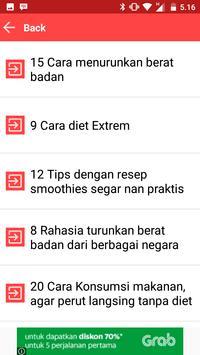 44 Cara Menurunkan Berat Badan Secara Alami apk screenshot