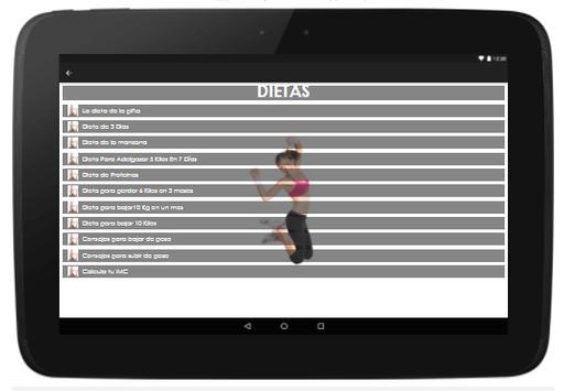 Dietas screenshot 6