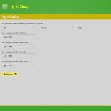 Diet Chart-Automated System screenshot 14