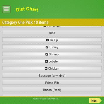 Diet Chart-Automated System screenshot 17
