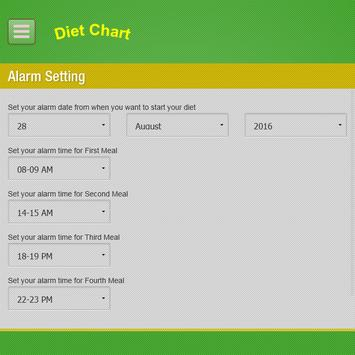 Diet Chart-Automated System screenshot 23