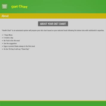 Diet Chart-Automated System screenshot 8