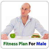 Diet plan for male - Fitness, Calories Control icon