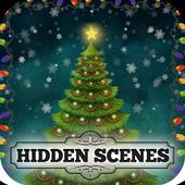 Hidden Scene Free Christmas Puzzles Adventure Game icon