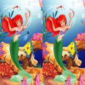 لعبة الاختلافات بين الصورتين مراحل كثيرة icon