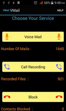 VMail Voice mail+Call Recorder poster