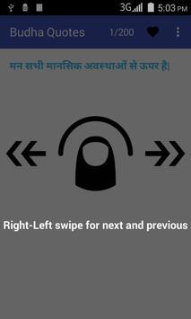Buddha quotes 5 in 1 language apk screenshot