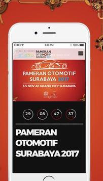 Pameran Otomotif Surabaya 2017 poster