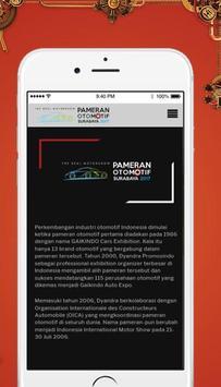 Pameran Otomotif Surabaya 2017 apk screenshot